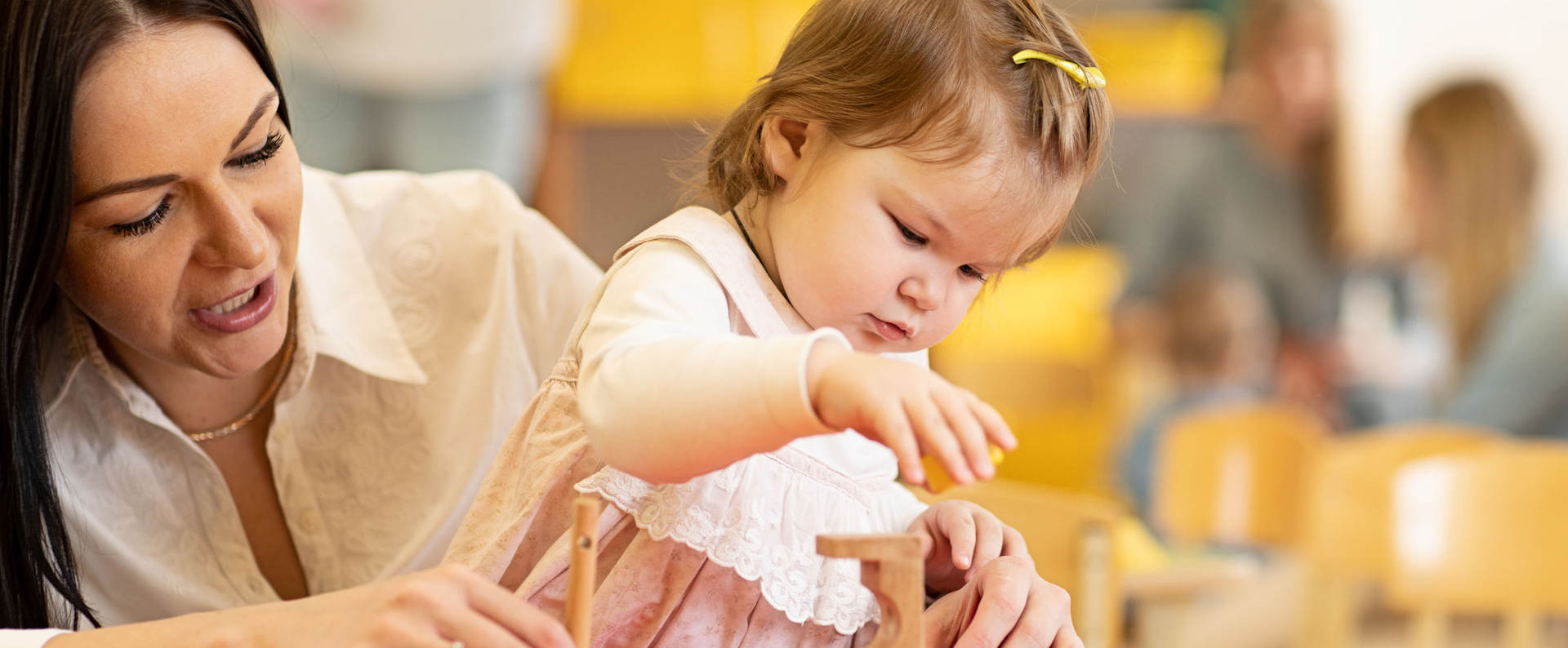 Comprehensive, prepared Montessori environments for your child